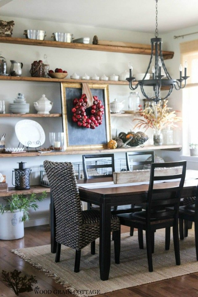 Dining Room Storage Ideas 12