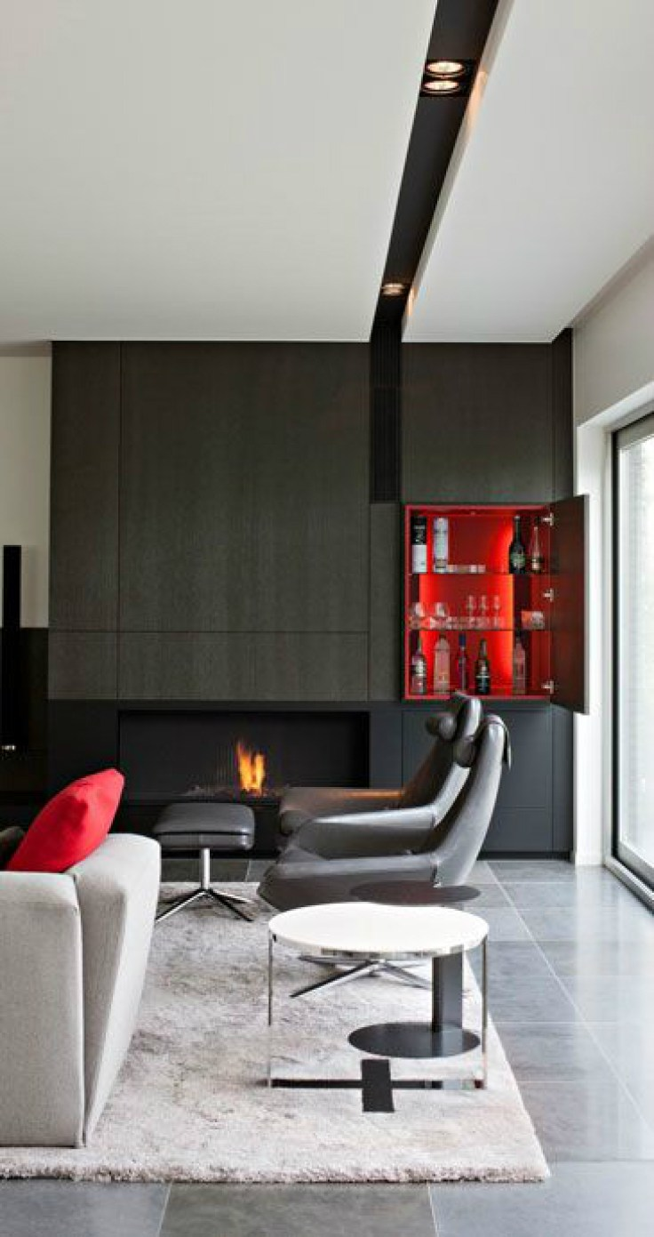 Mannen interieur man cave in zwart en rood stijlvol for Interieur bloggers