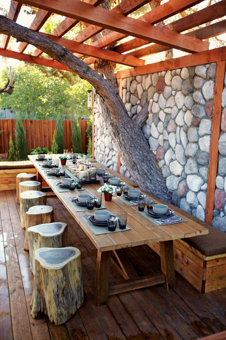 10 Easy Budget-Friendly Ideas To Make A Dream Patio ... on Backyard Patios On A Budget id=51015