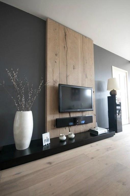 Wall Decor Ideas Behind Tv