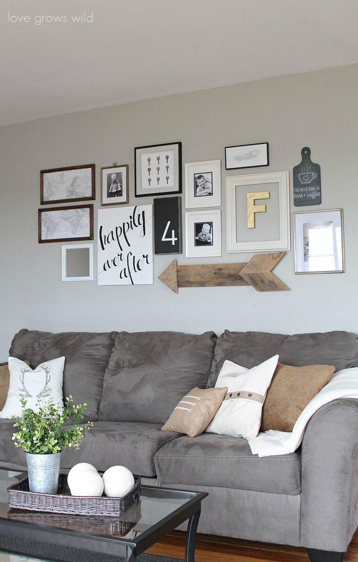 21 Art Gallery Wall Ideas - Decoholic on Room Wall Decor id=63973