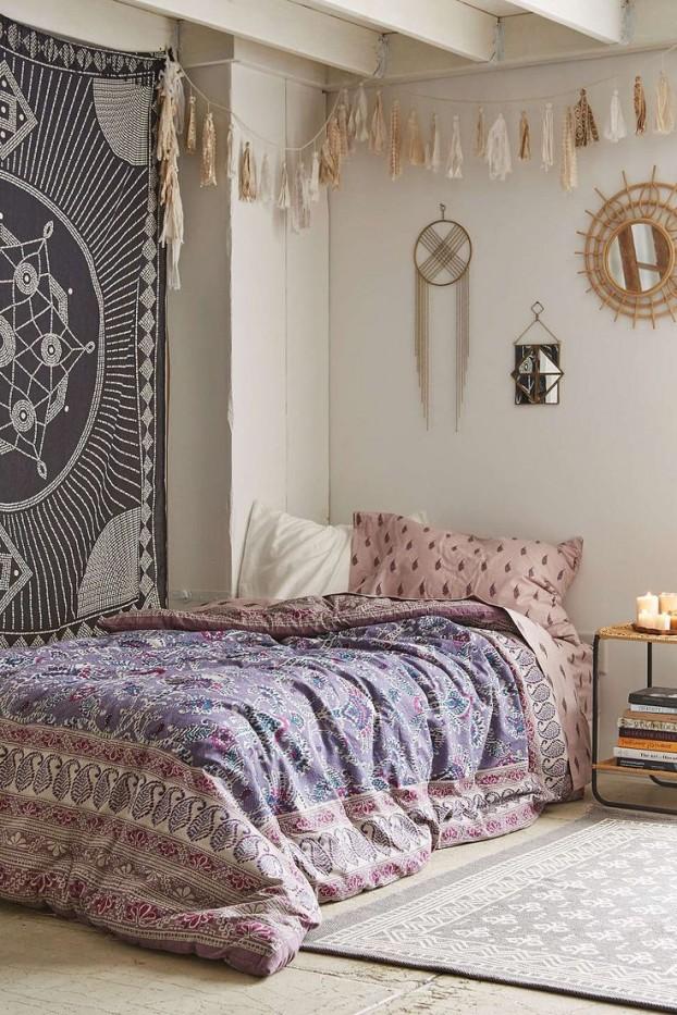 31 Bohemian Bedroom Decor | Boho room ideas | Decoholic on Bohemian Bedroom Ideas  id=26146