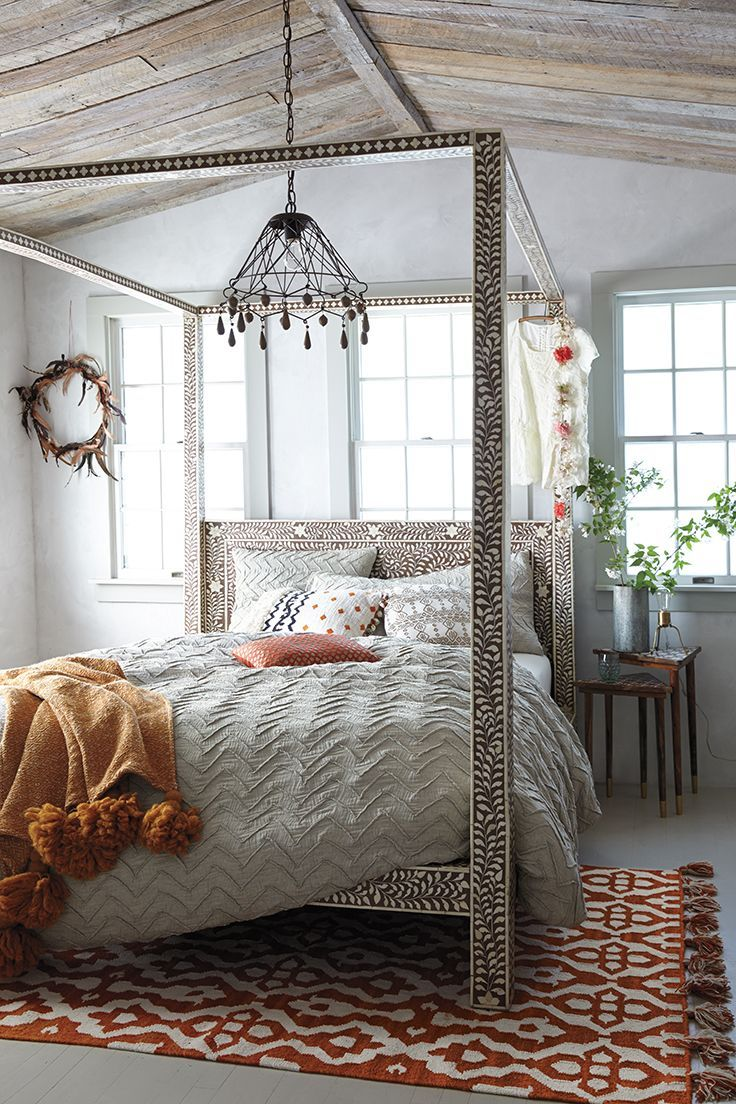 31 Bohemian Bedroom Decor | Boho room ideas | Decoholic on Boho Bedroom  id=25777