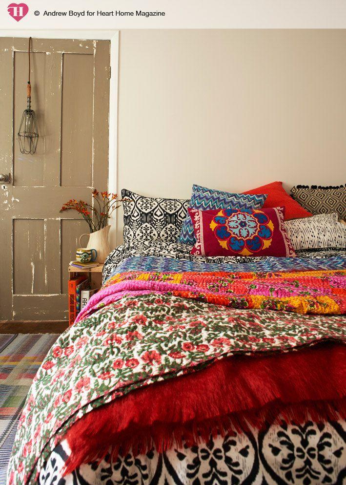 31 Bohemian Bedroom Decor | Boho room ideas | Decoholic on Bohemian Bedroom Ideas  id=22367