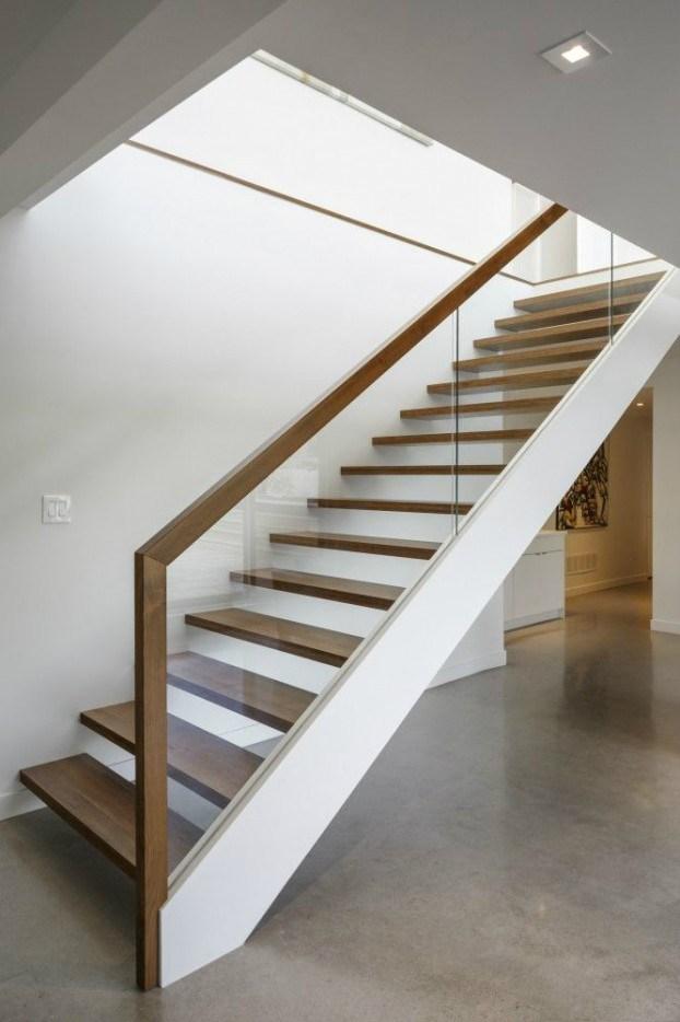 47 Stair Railing Ideas Interior Stair Rails Decoholic | Modern Style Stair Railing | Handrail | Art Deco | Rustic Farmhouse | Decorative | Unique Fancy Stair