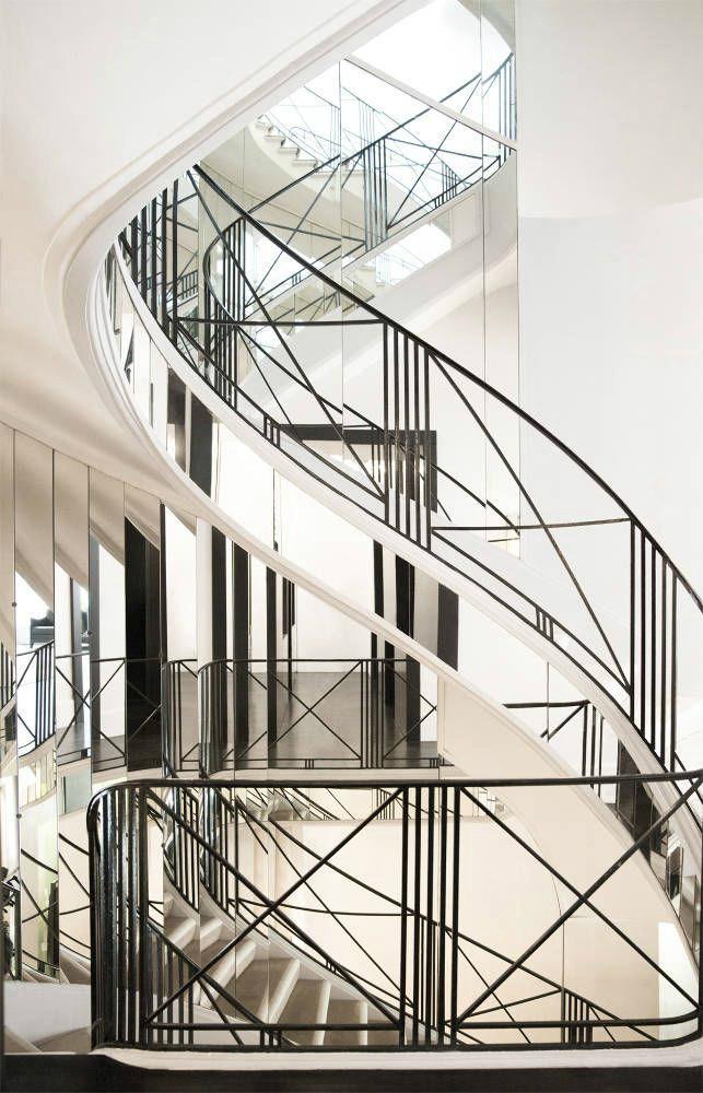 47 Stair Railing Ideas Interior Stair Rails Decoholic   Stair Railing Design Iron   L Shape   Home   Residential   Aluminum   Oak And Iron