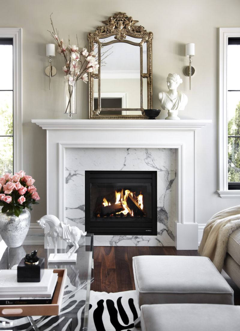 How To Create An Elegant Space In A Small Living Room ... on Small Space Small Living Room With Fireplace  id=59865