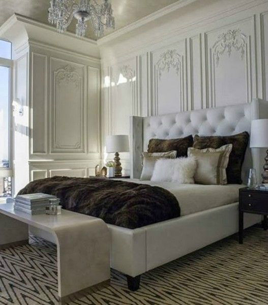 Classic Master Bedroom Design 10
