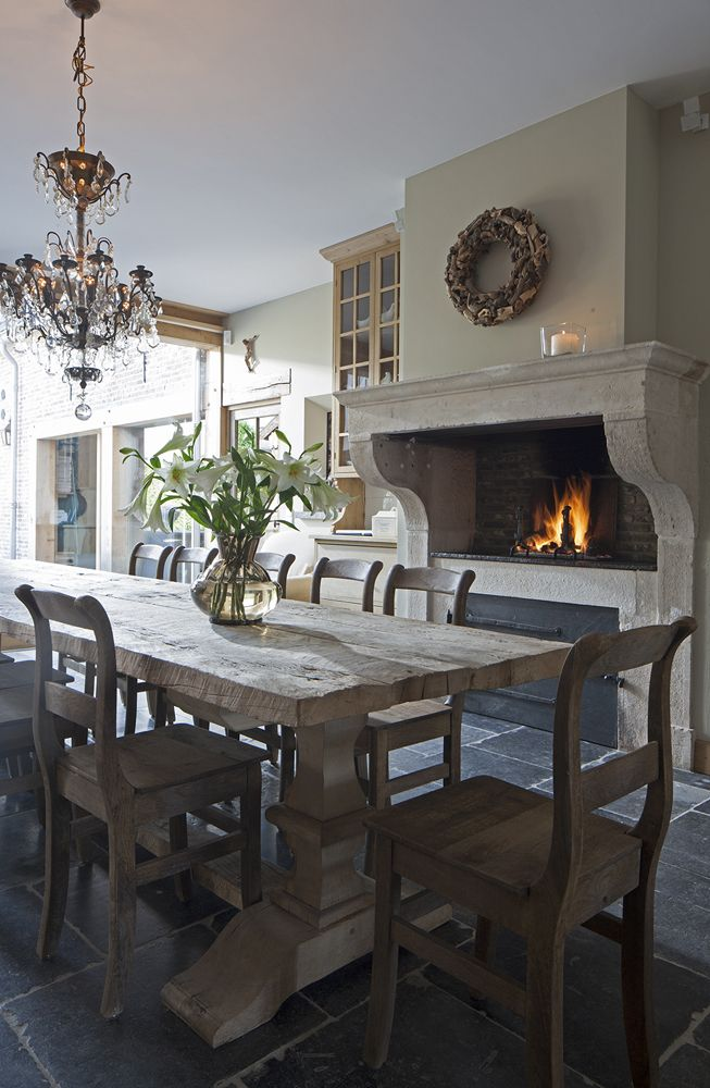 12 Rustic Dining Room Ideas   Decoholic Rustic Dining Room Idea