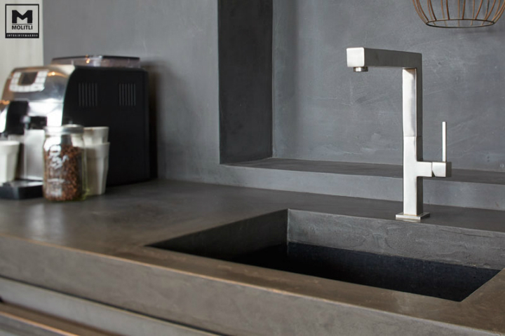 Concrete Kitchen Design Decoholic