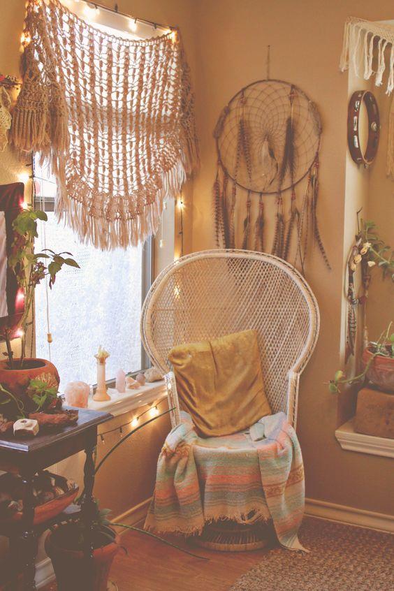 26 Bohemian Living Room Ideas - Decoholic on Room Decore  id=49232
