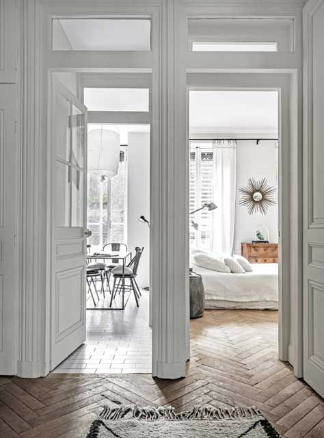 The Luxurious White Themed French Apartment Decoholic