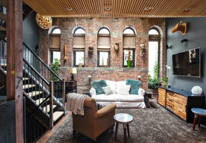 The 2m Skylit Soho Loft That Is Everyone S Dream Love Nest