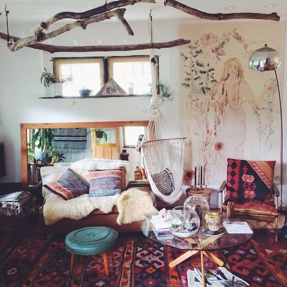 title | Rustic Boho Living Room