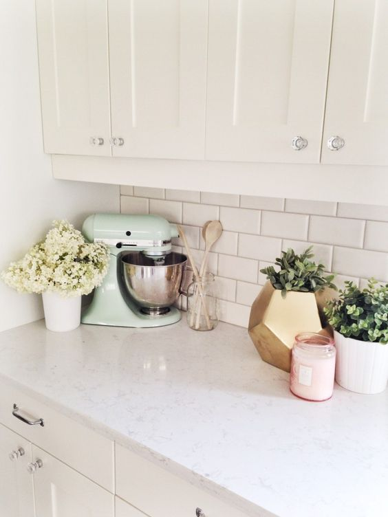 Best Hairstyles for Women: 10 Ways to Style Your Kitchen ... on Kitchen Counter Decor Modern  id=12353