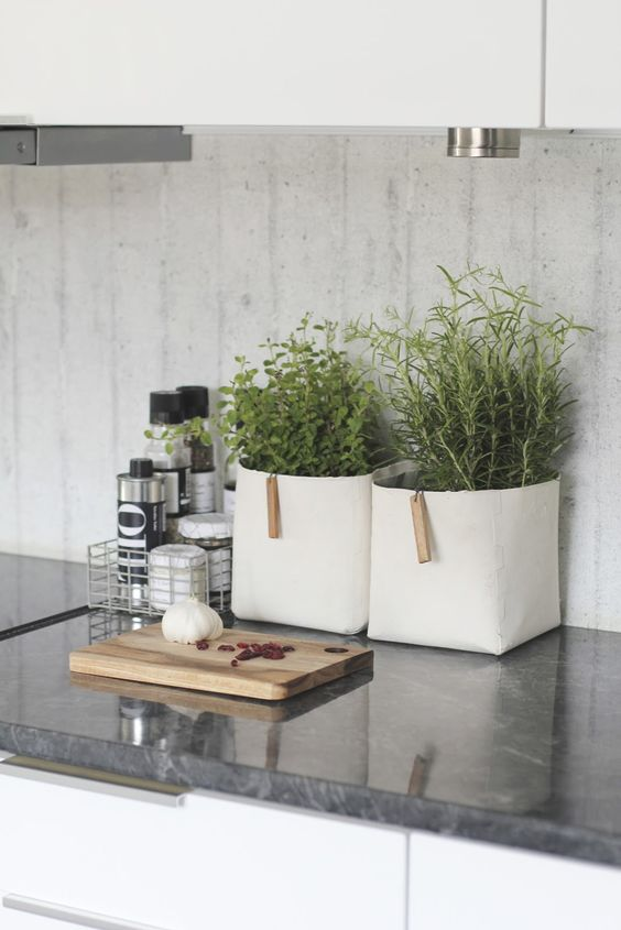 10 Ways to Style Your Kitchen Counter Like a Pro - Decoholic on Kitchen Counter Decor  id=43295