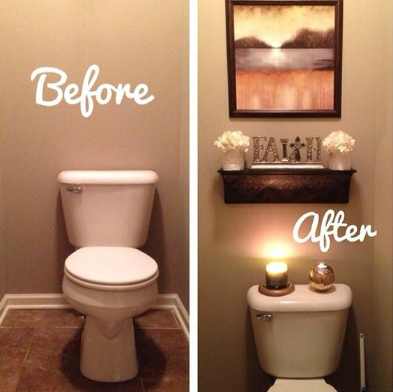 11 Easy Ways To Make Your Rental Bathroom Look Stylish ... on Bathroom Ideas Apartment  id=19137