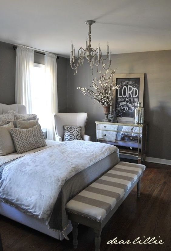 40 Gray Bedroom Ideas - Decoholic on Teenage Grey Small Bedroom Ideas  id=14455