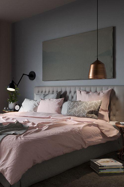 40 Gray Bedroom Ideas - Decoholic on Teenage Grey Small Bedroom Ideas  id=39480