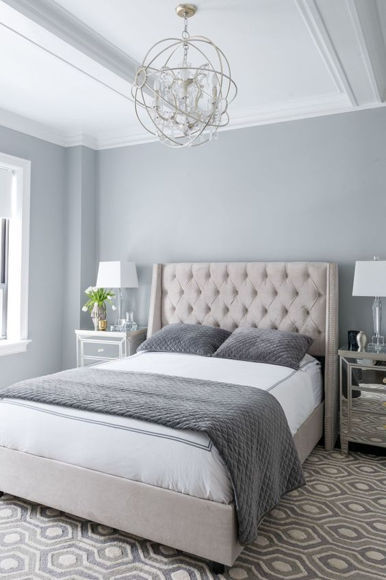40 Gray Bedroom Ideas - Decoholic on Teenage Grey Small Bedroom Ideas  id=25508