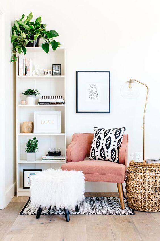 update living room decor idea on a budget 3