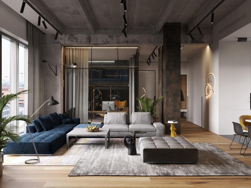 Modern Masculine Home Decor Decoholic