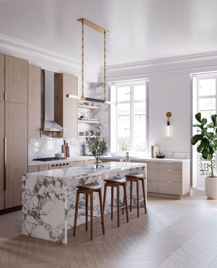 kitchen Huntington Island Light & Sconce