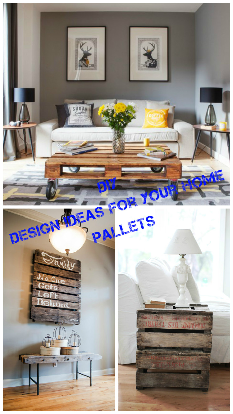 DIY. Design ideas for your home with pallets on Pallets Design Ideas  id=56959