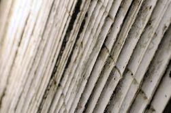 El hormigón desnudo de las paredes tiene la forma del bambú, un detalle que, según el director ejecutivo del museo, Qian Lu, demuestra la importancia que el arquitecto concede a la naturaleza.