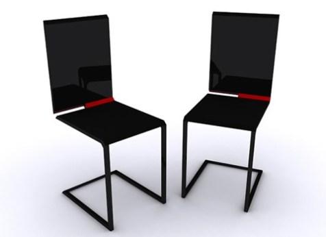 Sillas que se transforman en mesas y viceversa