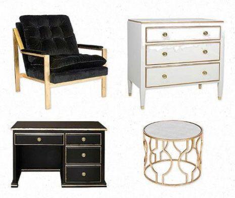 Muebles dorados 5