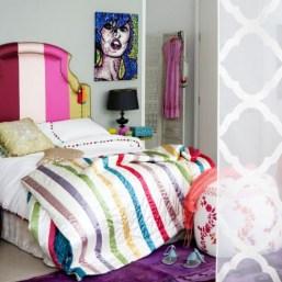 Cabeceros de camas super coloridos