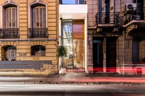 El bar más angosto del país esta en Córdoba