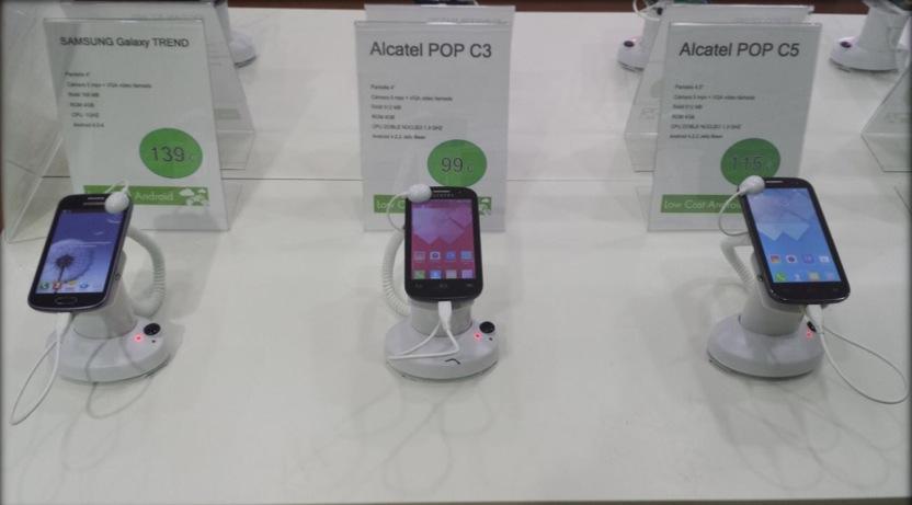 Expositor Smartphone