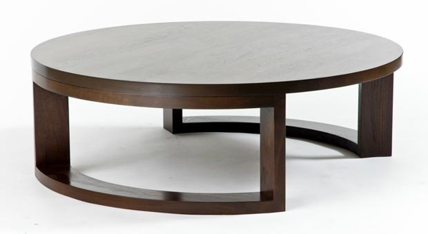 nature inspired furniture: round coffee tablesmfd - decojournal