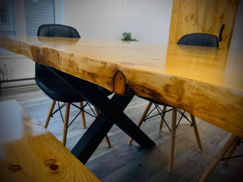 Table bois live edge jack shop