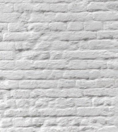 mur de brique peinturé
