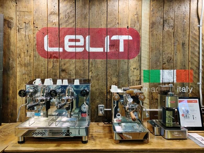 Machine à café pro Lelit