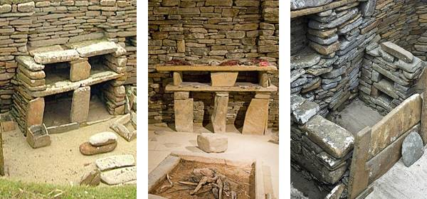 Meubles néolithique Skara Brae
