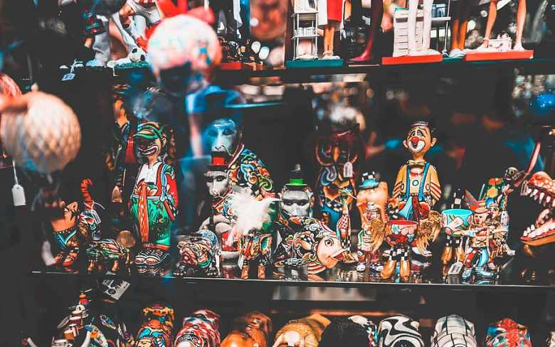 Collection de figurines