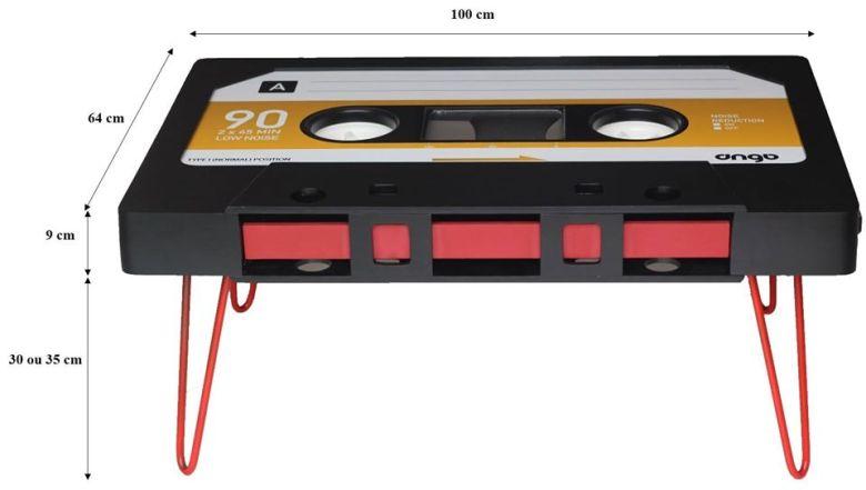 Table cassette mesures