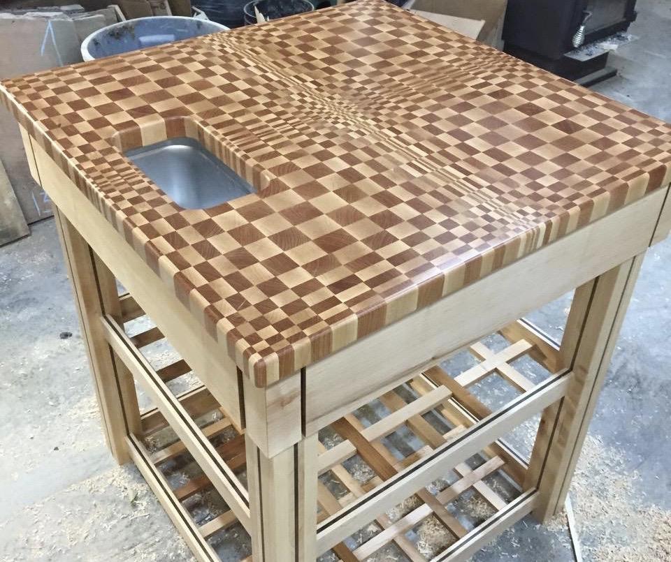 Table bloc de boucher