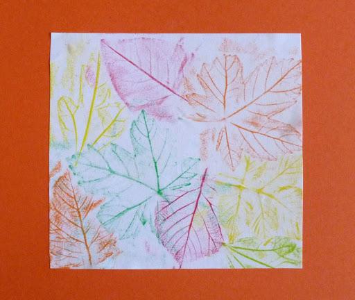 Frottis de feuilles