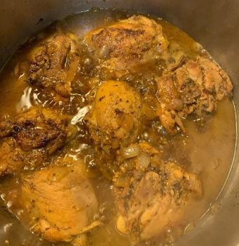 preparar arroz con pollo