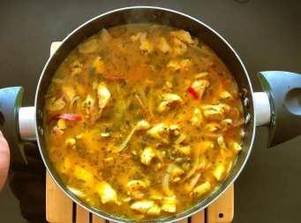 ingredientes para el ceviche de pollo