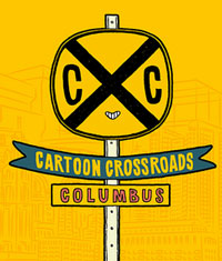 Cartoon Crossroads Columbus logo