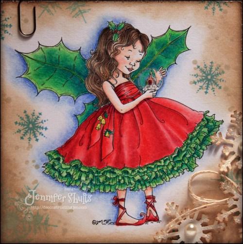Christmas Holly Fairy