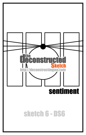 The Deconstructed Sketch No. 6