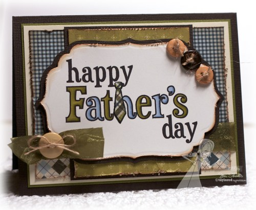 Happy Father's Day by Jen Shults