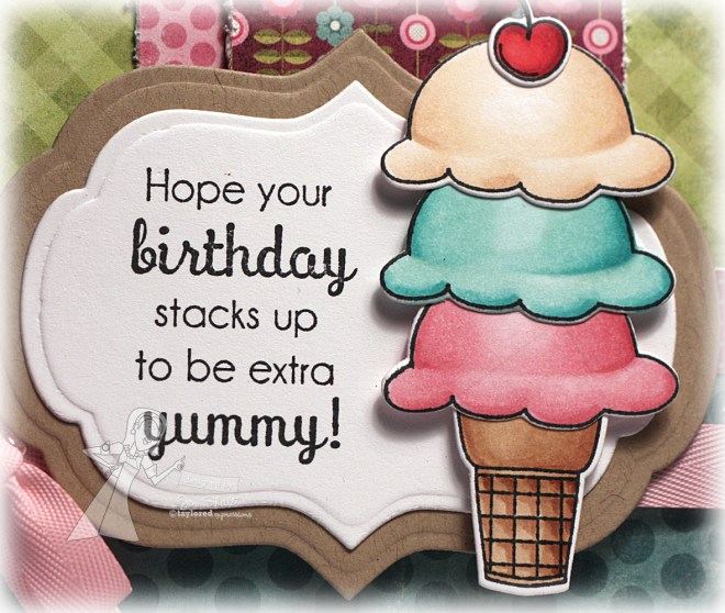 Hope your Birthday Stacks Up by Jen Shults (Stamps from Taylored Expressions)